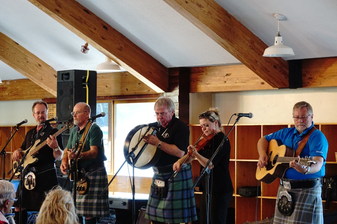 'The Brigadoons' at 'New Hampshire Highland Games' Loon by Anura Guruge